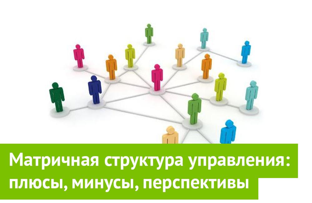 Матричная структура управления: плюсы, минусы, перспективы