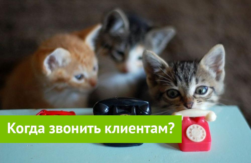 «Неблагоприятные» времена для продаж по телефону? Когда звонить клиенту?