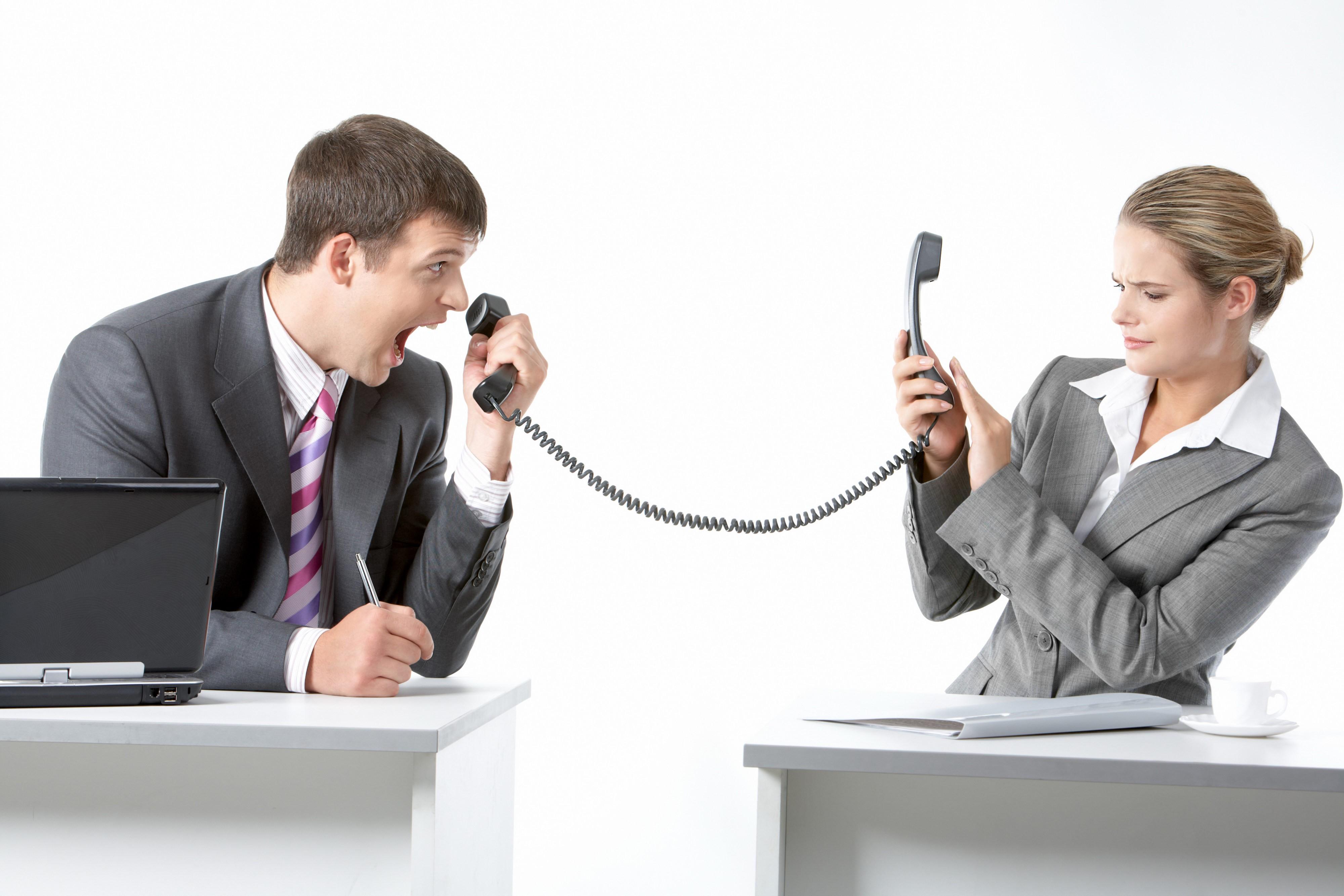 Телефонные переговоры: кто главный?