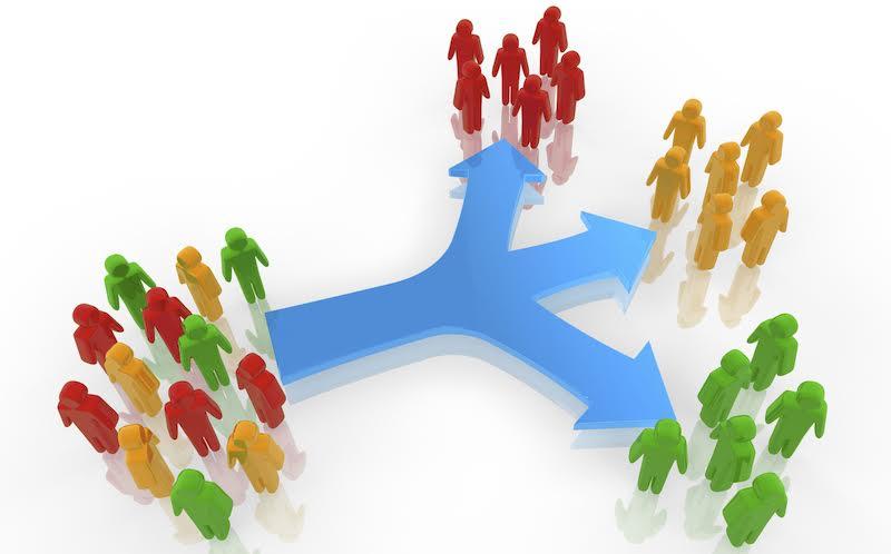 Сегмент рынка: выделение его для точечной работы с потребительской активностью.